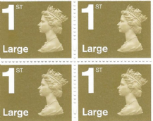 1st Class Large Letter (£1.06) Discounted Stamp L&S Gum (12% to 15% off)